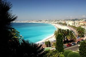 vue de Nice mer